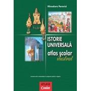 Istorie universala. Atlas scolar ilustrat/Minodora Perovici