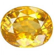 Jaipur Gemstone 7.44 carat yellow sapphire(pukhraj)
