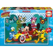 Puzzle Educa - Mickey and the Roadster Racers, 100 piese (17240)