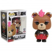 Funko Pop Furry N' Fierce Hot Topic Sticker Build-a-bear
