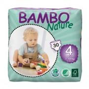BAMBO NATURE 4 Maxi - 8 à 18 kg - 30 langes
