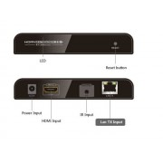 Transmitter ONLY - 1xN Splitter over Network / HDMI over LAN Extender up to 120 meter with IR