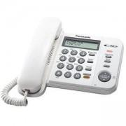 Стационарен телефон Panasonic KX-TS580FXB, бял 1010026_1