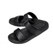 Lagerfeld sandalen van kalfsleer, 43 - zwart