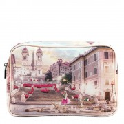 Y Not? Beauty Case Rettangolare Y NOT L-306 Pink Rome