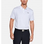 Under Armour Herenpolo UA Performance 2.0 Novelty - Mens - White - Grootte: Small