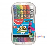 Tempera 12 db-os műanyag dobozban Maped