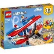 Конструктор Лeго Криейтър - Каскадьорски самолет - LEGO Creator, 31076