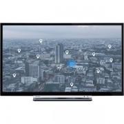 """32"""" Toshiba 32W3753DG, Smart HDReady (1366x768), 2x6W, VGA/HDMI/SCART/USB/LAN/Wi-Fi"""