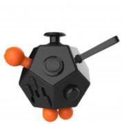 Juguete de descompresión de Rubik de 12 caras-naranja