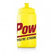 PowerBar Bidon 500 ml - Male - Geel - Grootte: 500-ML