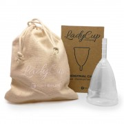 LadyCup Menstruationstassen-Set (Größe A und B)