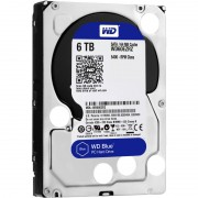 "HDD intern WD, 3.5"", 6TB, BLUE, SATA3, 5400rpm, 64MB [WD60EZRZ]"