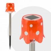LED-es szolár gombalámpa 25 cm