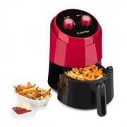 Well Air Fry Fritadeira de Ar Quente 1230W Protecção Contra Sobreaquecimento 1,5L Vermelho