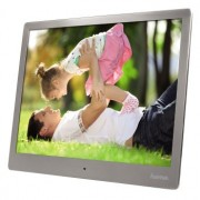 "Photo Frame 10"", HAMA 10SLP, Slim, Steel, Music & Video, Premium (95276)"