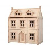 Plan Toys Casa de Muñecas de Madera Victoriana