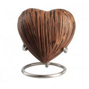 Elegance Hart Urn Dark Woodlook (0.1 liter)