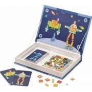 Jucarie educativa Janod Magnetibook - Robots