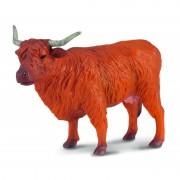 Figurina Vaca Highland, 12 x 7 cm