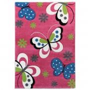 Merinos Kindervloerkleed 772-17 Fuchsia-80 x 150 cm