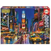 RCS Toys Educa Jigsaw Puzzle - Times Square, New York - 1000 pieces