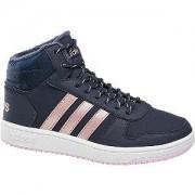 Adidas Blauwe Hoops Mid 2.0 adidas maat 3
