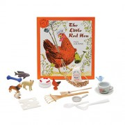 Primary Concepts, PC-1565 the Little Red Hen 3-D Children Play Book