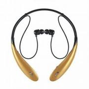 Elegans Bluetooth-headset med mikrofon. - Guld