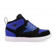 Nike Sky Jordan 1 BQ7196-004 Zwart / Blauw-19.5 maat 19.5