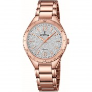 Reloj F16922/3 Golden Rose Festina Mujer Boyfriend Collection