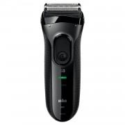 Aparat de barbierit Braun ProSkin 3020s, 3 capete, Ni-MH, MicroComb, SensoFoilTM, Negru