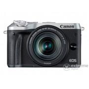Kit aparat foto Canon EOS M6 (cu obiectiv 18-150mm ), argintiu