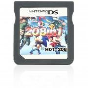 NDS 208 1 Cartucho De Juego De Vídeo Mini Tarjeta De Memoria De La Consola De Nintendo