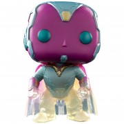 Funko Pop Faded Vision Edicion Exclusiva Marvel Avengers-Morado