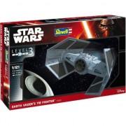 Aeromacheta Revell Star Wars Darth Vader Tie Fighter, scara 1:121