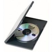 Manhattan Custodia per DVD/CD BOX Nero
