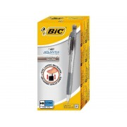 BIC 8206433 - BIC Pencil Atlantis Refillable 0,5 Rubber grip 12-pack