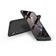 Huawei P20 hátlap - GKK 360 Full Protection 3in1 - fekete