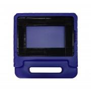 Kid Drop-Resistant EVA Tablet Funda Protectora Con Asa De Transporte Para El IPad 5/6 Púrpura