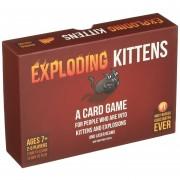 Juego de Cartas de Exploding Kittens-Rojo