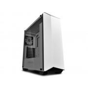 "Carcasa CARCASA DeepCool Middle-Tower ATX, 2*120mm (incluse), 2* RGB LED headers, RGB Color LED strip, tempered glass, I/O panel iluminat 1x USB 3.0, 1x USB 2.0, white ""EARLKASE RGB WH"""