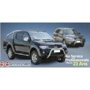 PROTECTION ANGLES DE PARE-CHOC INOX 50 DAIHATSU TERIOS 1997- 2006 accessoire 4X4 MARINA