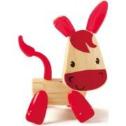 Hape Mini-mals Bamboo Donkey Play Figure