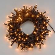 Luci Da Esterno Catena luminosa 70,4 m, 1000 Mini LED colore Oro, cavo Verde, non prolungabile