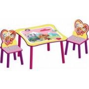 Set masuta si 2 scaunele Paw Patrol Pentru fete