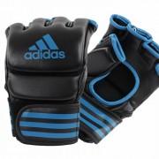Adidas Traditional Grappling Handschoenen Zwart-Blauw - XL