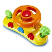 Magideal Baby First Car Steering Wheel Infant Pram Sound Toy