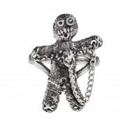 Anello ALCHEMY GOTHIC - Voodoo Doll - R236