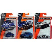 Police Matchbox CSI FORD Explorer Interceptor Vehicles Mustang State '93 Ford Silver LX SSP + City Meter Made Blue Parking Traffic Heroic Rescue in PROTECTIVE CASES